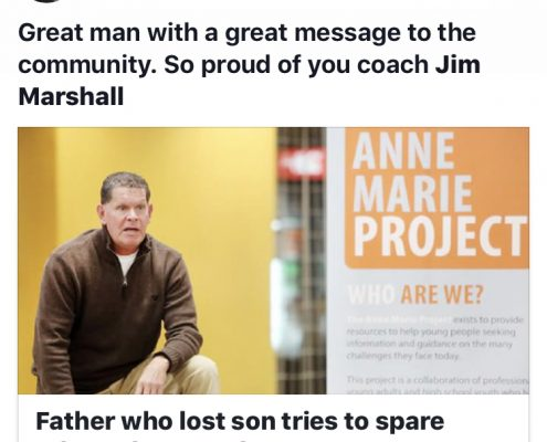 Great man with a great message to the community.